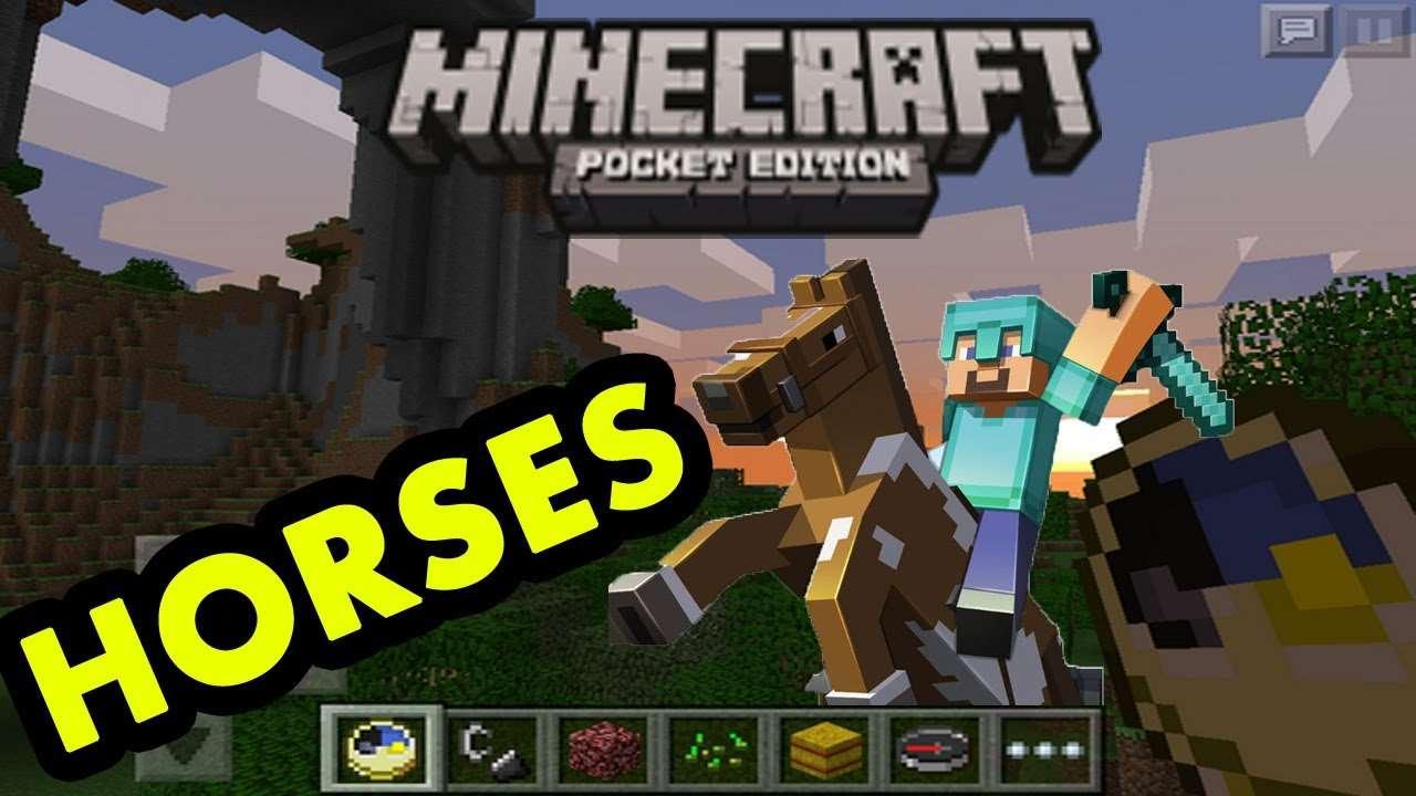 Разбор полетов – Лошади в Minecraft