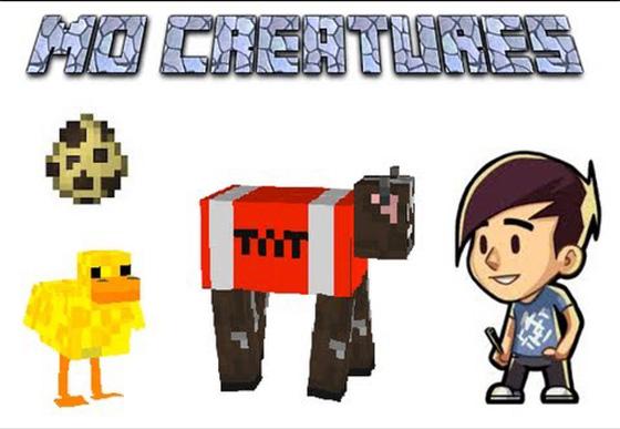 Мод «MO' CREATURES» — больше существ!