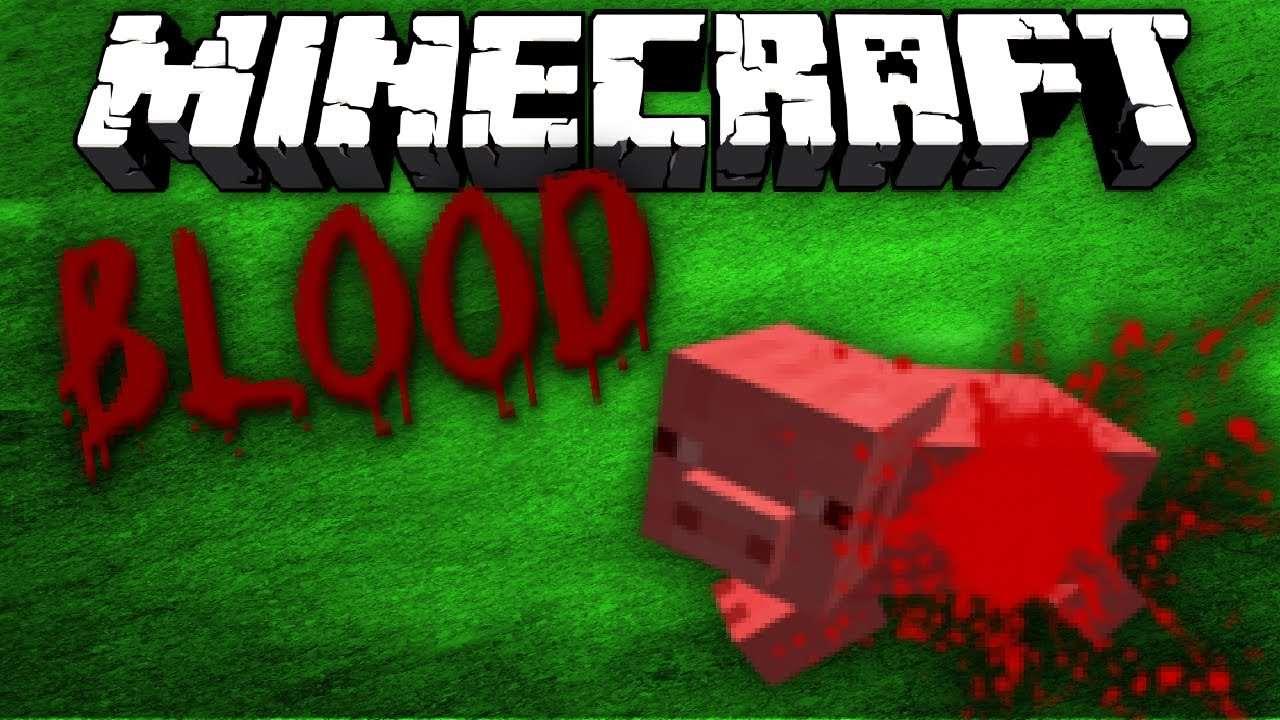 Мод «Blood Splatter» — брызги крови!