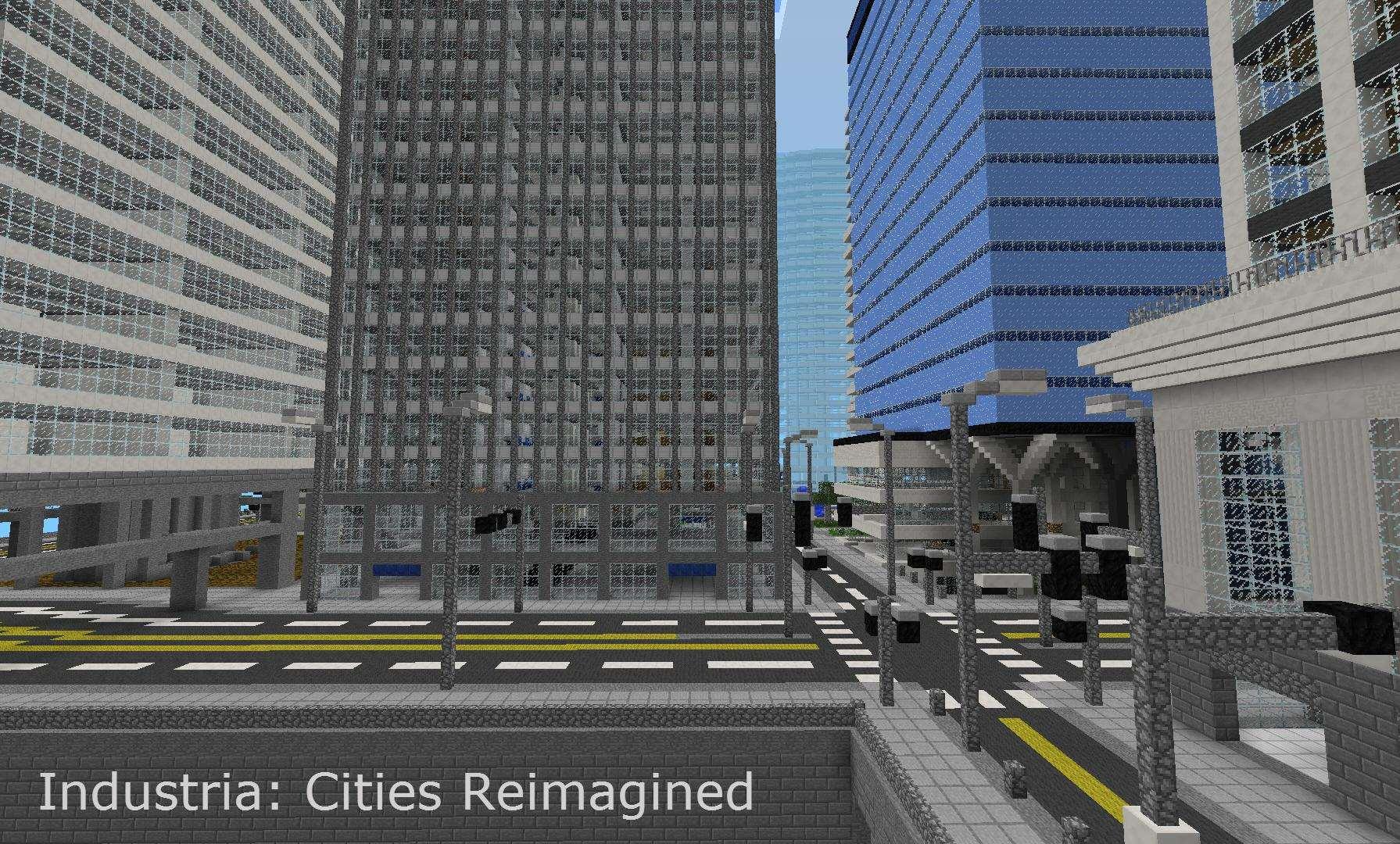 Подробная городская карта «INDUSTRIA»