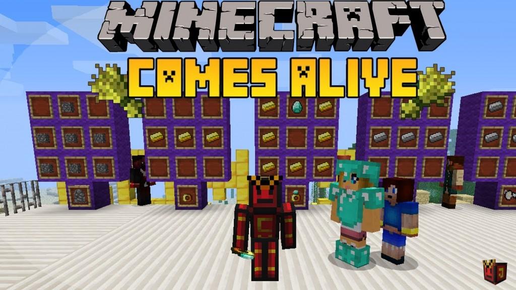 Minecraft comes alive-mod-logo