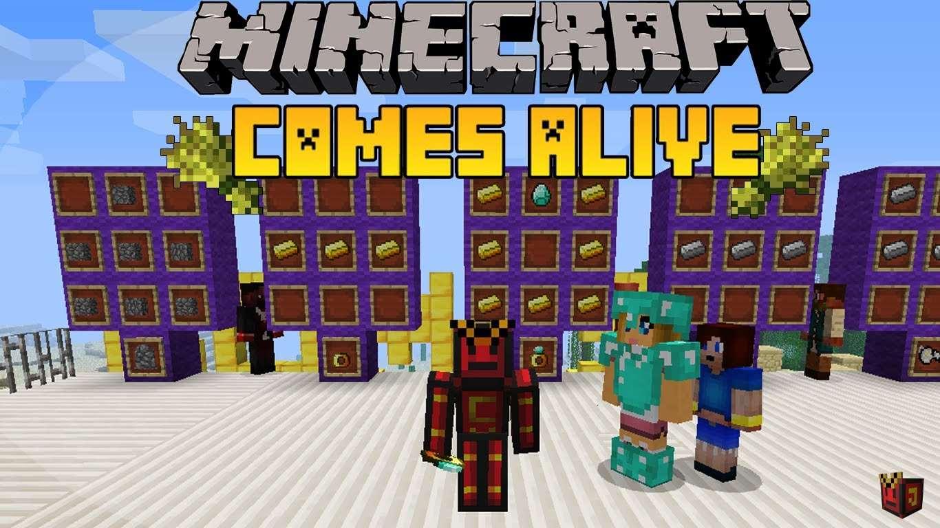 Мод, с которым Minecraft оживает — Comes Alive!!!