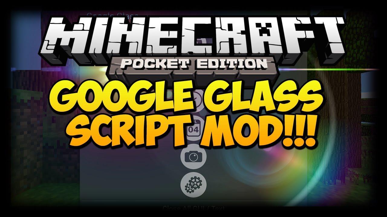 Мод «Google Glass» — очки Гугл  в Minecraft PE!