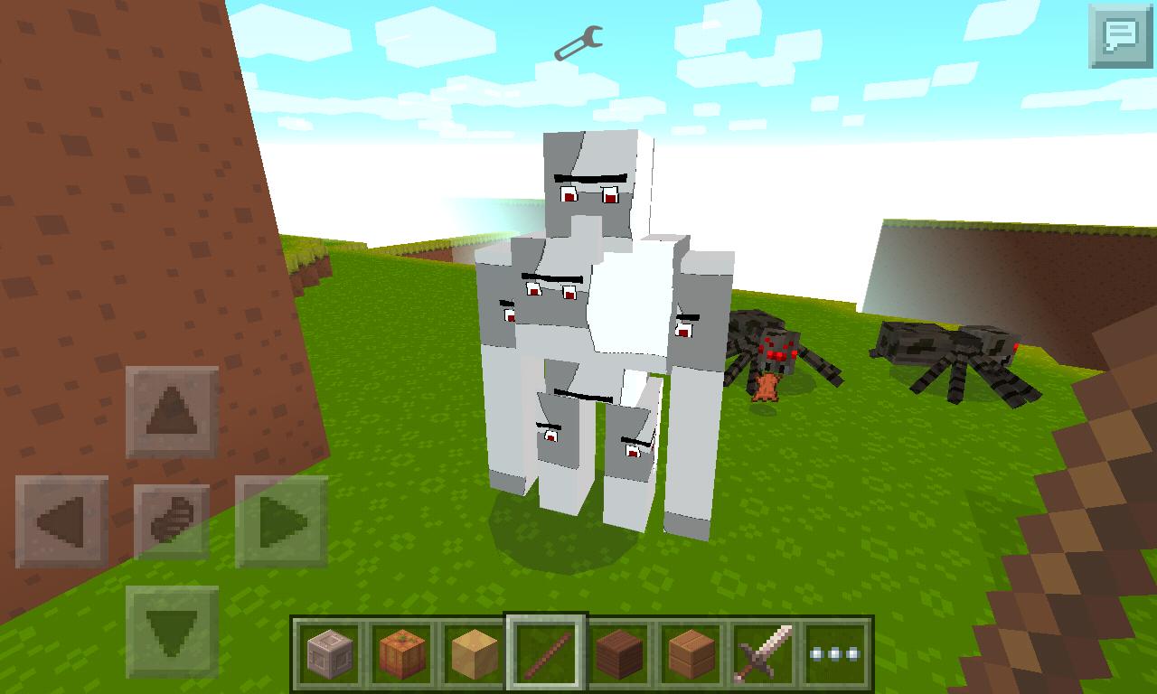 Мод на железного Голема: все, как в Minecraft на PC!