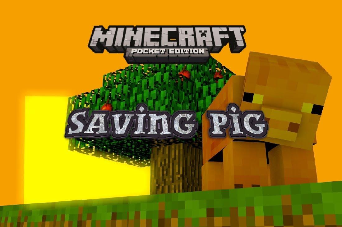 Карта «Спасение свиньи» — мини-миссии с паркуром и приключениями!