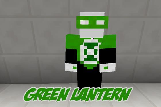 Текстурпак «GREEN LANTERN» — зеленый фонарь!
