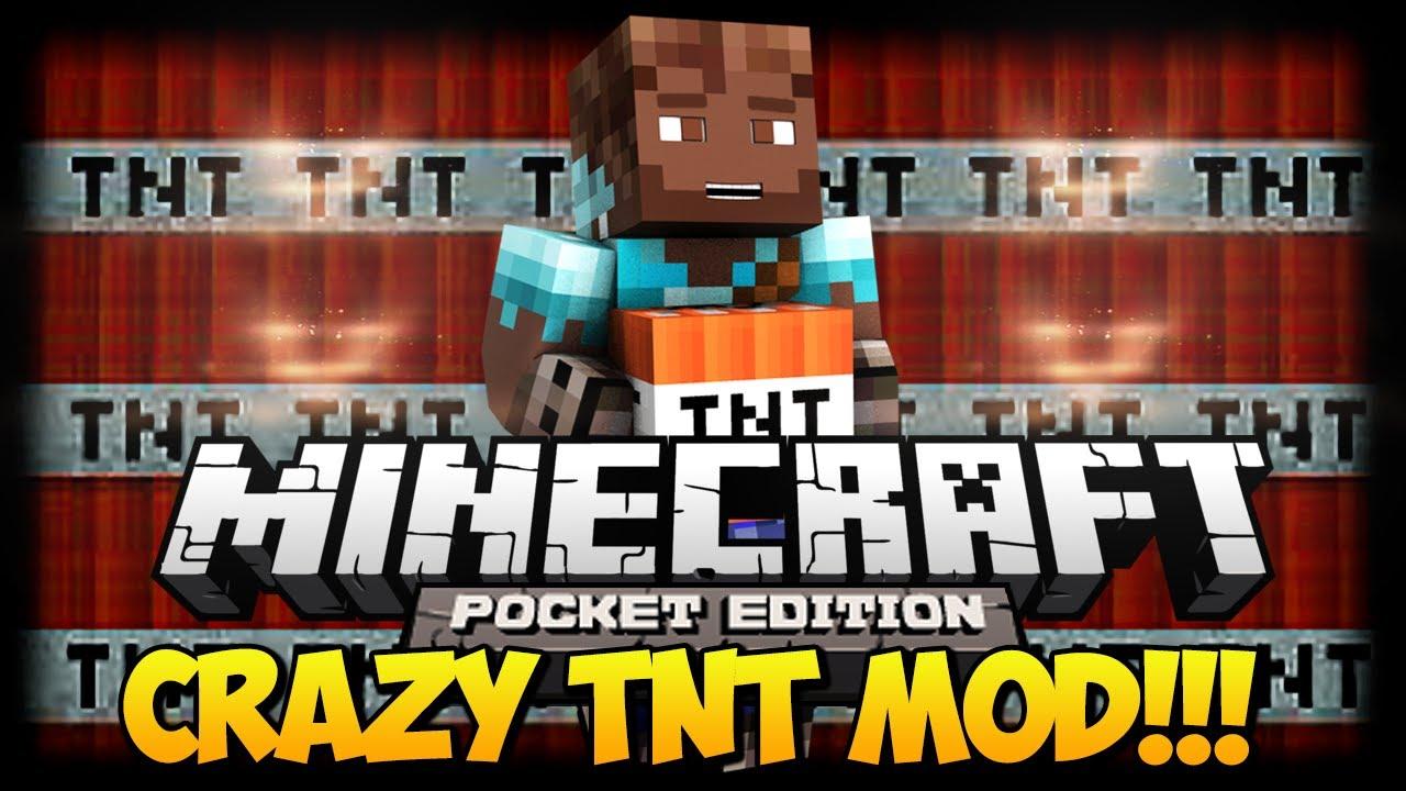 Мод «Crazy TNT» — сумасшедший ТНТ!