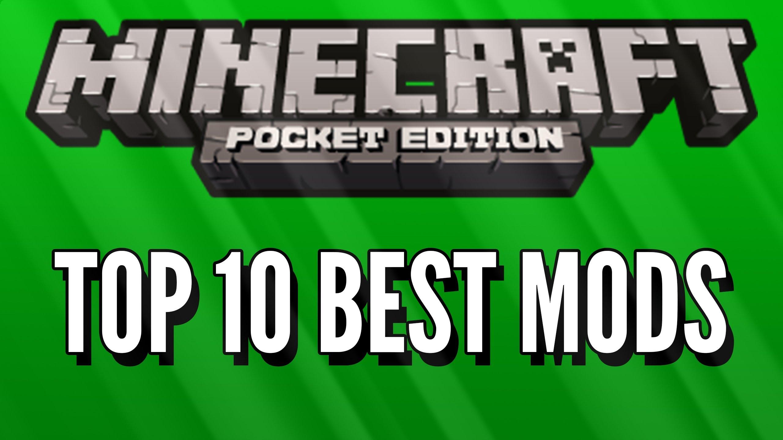 ТОП 10 лучших модов для Майнкрафт ПЕ 0.8.1!