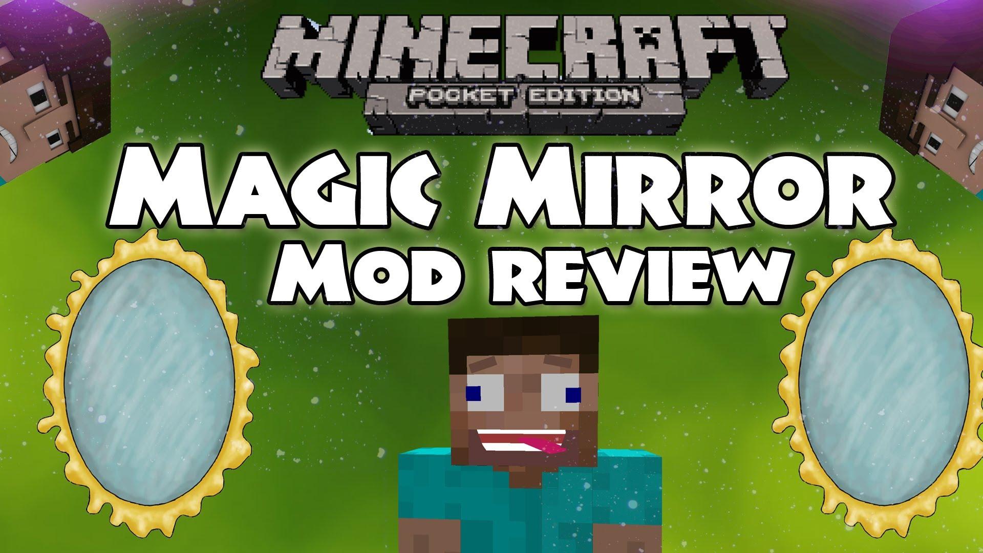 Мод «Magic mirror» — магическое зеркало!