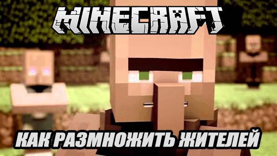 Как размножаются жители в Minecraft и как они выглядят