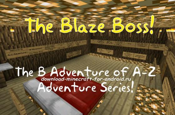 Удивительная карта «The Blaze Boss»