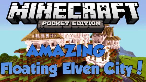 Карта Floating Elven city — плавучий город эльфов!