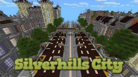 Карта Silverhills City — самый детализированный город в Minecraft!
