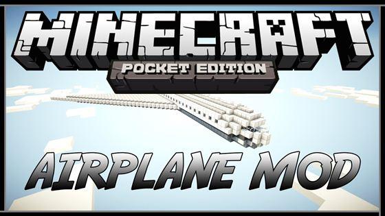 Мод Plane — самый настоящий самолет в Minecraft!