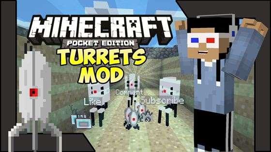 Новый мод на турели — Turrets! [0.9.5]