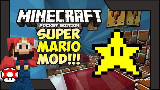 Мод Super Mario — тот самый водопроводчик! [0.9.5]