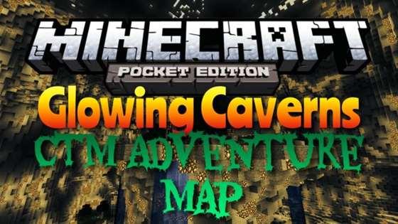 Карта «Glowing Caverns» — Светящиеся Пещеры! [0.9.5]