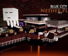 Карта Blue City — голубой город!