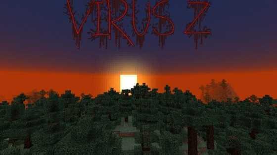 Карта на выживание с зомби Virus Z [0.10.0]