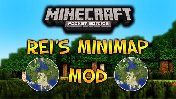 Мод Rei's MiniMap — миникарта!