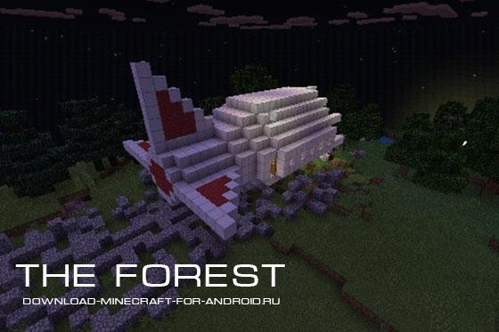 Карта на выживание The Forest!