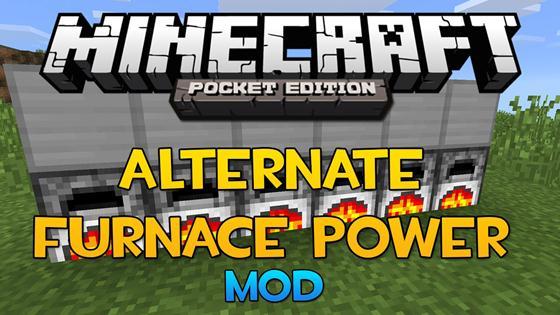 Мод Alternate Furnace Power — альтернативная печь!