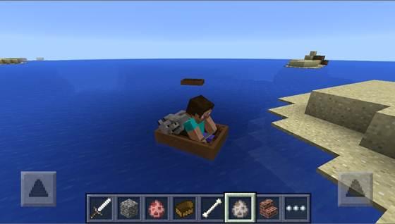 В Minecraft 0.11.0 будут лодки на двоих!
