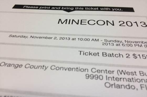 Анонс фестиваля MINECON 2015