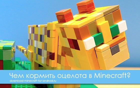 Чем кормить оцелота в Minecraft?