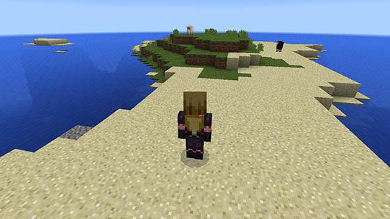 Сид на выживание с мини-островом