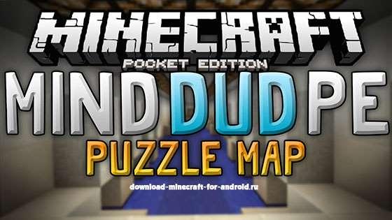 Карта-паззл MindDud PE