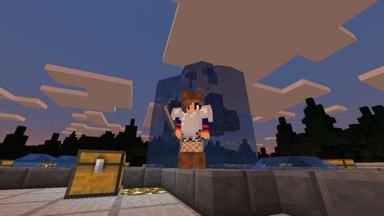 Голодные игры в Minecraft PE