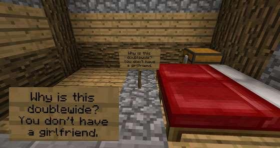 как троллить в Minecraft