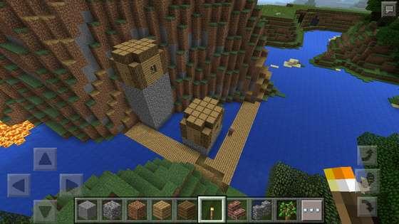 minecraft pe сиды на замок