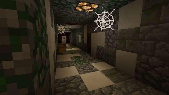 хоррор карта для minecraft pe 0.15.0