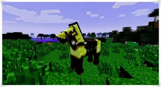 лошади в minecraft pe 0.15.0
