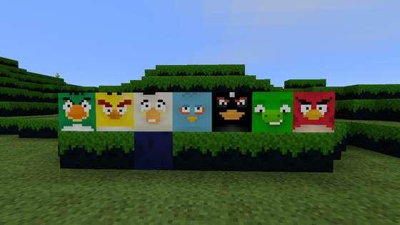 текстурпак angry birds