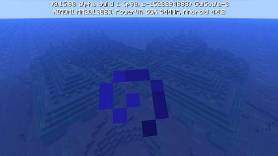 подводная крепость в mcpe 0.16.0