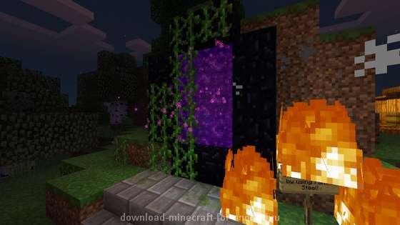 Хэллоуин в Minecraft PE