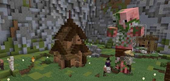 свинозомби в minecraft pe 0.16.0