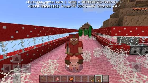 гонки на свиньях в майнкрафт пе 0.16.0