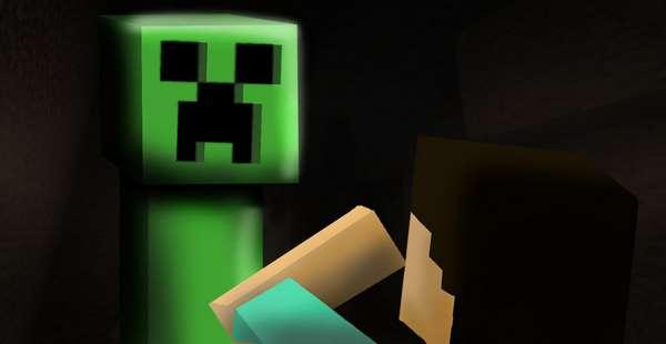 creeper in minecraft