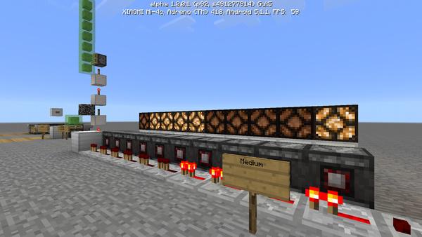 редстоун постройки в minecraft pe