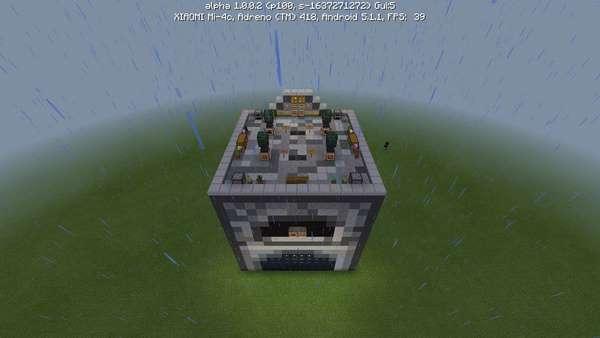 редстоун печь в minecraft pe
