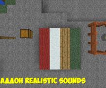 Ресурспак для MCPE на реалистичные звуки (только 1.0.4.1!)