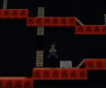 Играем в Donkey Kong в Майнкрафт ПЕ!