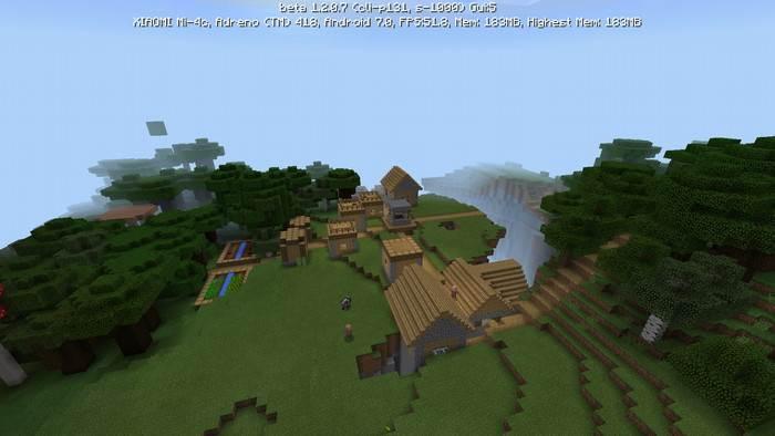 сид на деревню для minecraft 1.2