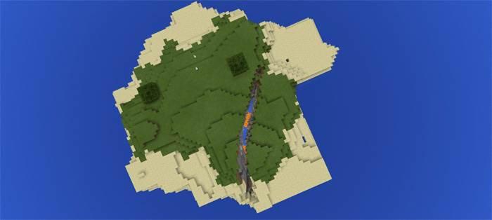 ravines in minecraft 1.2