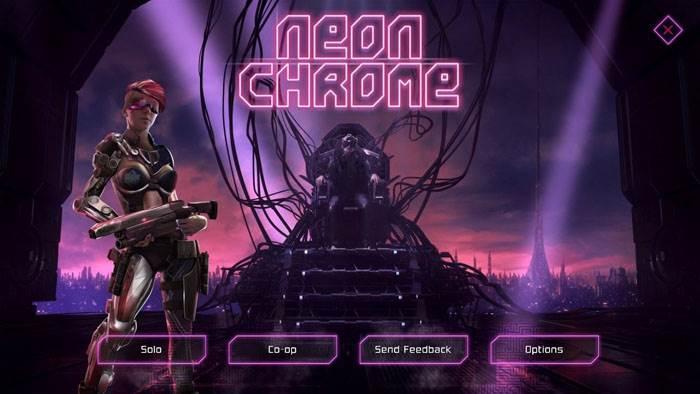 игра Neon-Chrome