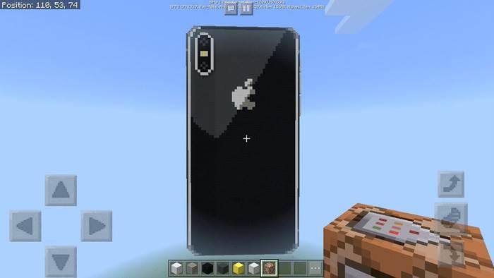 айфон 10 в майнкрафте